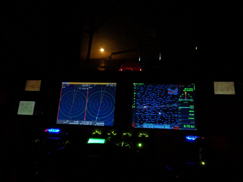 Night Passage-Bocas to Colon