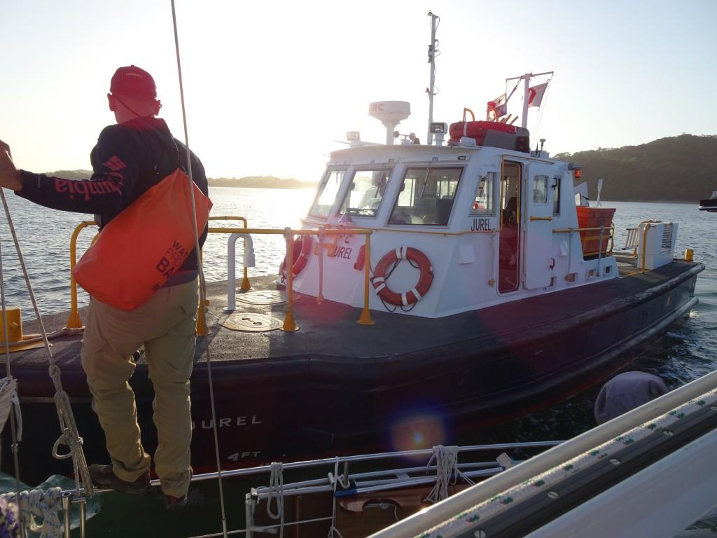 Advisor Transfer, Lake Gatun